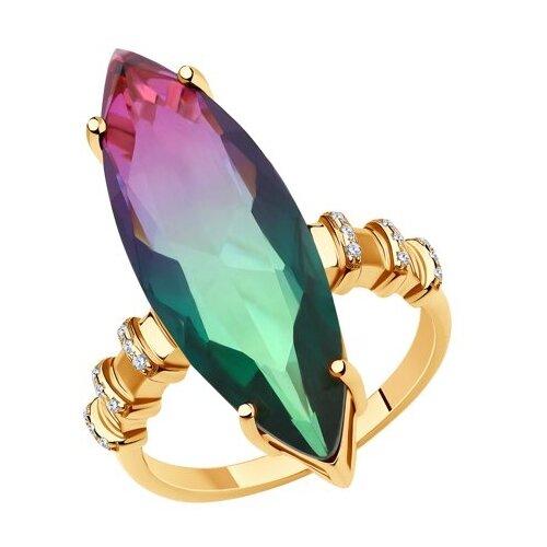 Diamant Кольцо из серебра 93-310-00502-1, размер 18