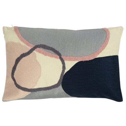 Подушка декоративная Tkano с дизайнерским орнаментом из коллекции Ethnic, 30х50 см