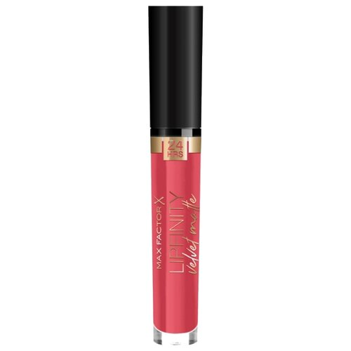 Max Factor жидкая помада для губ Lipfinity Velvet Matte матовая, оттенок 025 red luxury