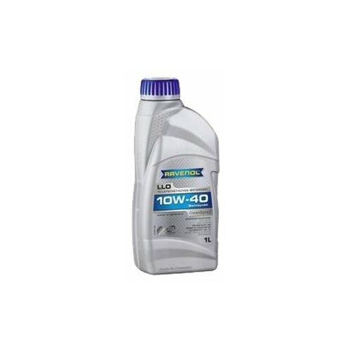 Полусинтетическое моторное масло Ravenol LLO SAE 10W-40, 1 л моторное масло ravenol dlo sae 10w 40 1 л