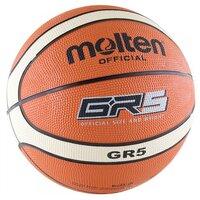 43c077cf Баскетбольный мяч Molten BGR5, р. 5 оранжевый/бежевый/черный