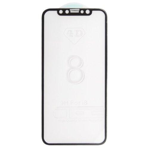 Защитное стекло Liberty Project 4D гибридное с акриловой рамкой для Apple iPhone X черныйЗащитные пленки и стекла<br>