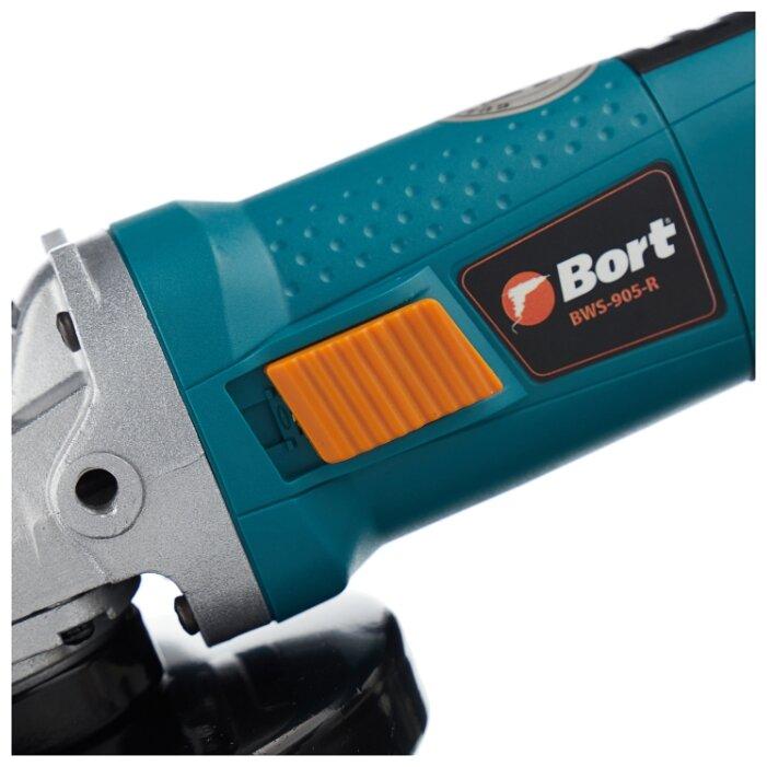 УШМ Bort BWS-905-R, 900 Вт, 125 мм