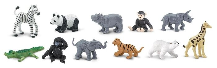 Фигурки Safari Ltd Детеныши диких животных 680004