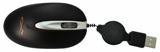 Мышь LOGICFOX LP-MS 002 Black-Silver USB