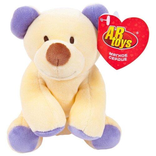 Мягкая игрушка ABtoys Медведь 14 см