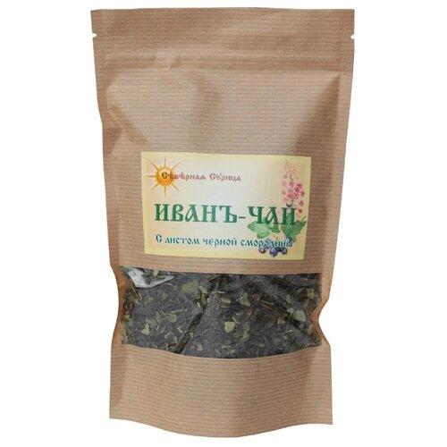 Чай травяной Северная Сурица Иван-чай с листом черной смородины, 80 г чай травяной aroma иван чай с ягодами и листом черной смородины 100 г