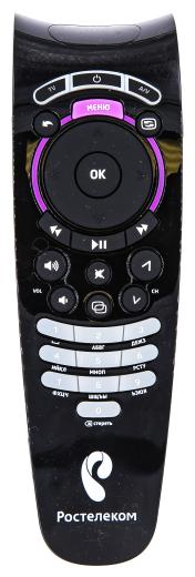 Пульт ДУ Gwire 97301 Ростелеком для IPTV-приставок SML-282 HD Base, VIP-1003, VIP-1003G, IPTV-HD-101, IPTV-HD-103