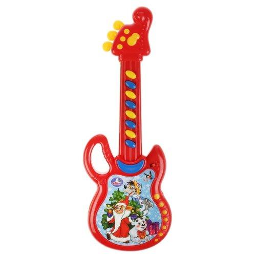 Умка гитара B1525285-R9 красный умка микрофон a848 h05031 r9