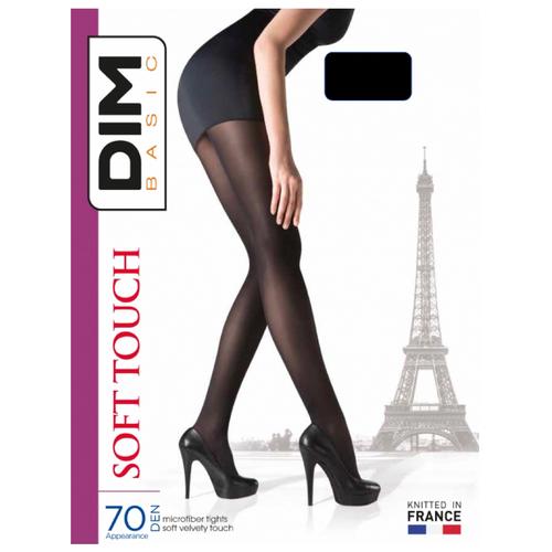 Колготки DIM Basic Soft Touch 70 den черный 2 (DIM)Колготки и чулки<br>