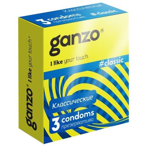 Презервативы Ganzo Classic, 3 шт. недорого
