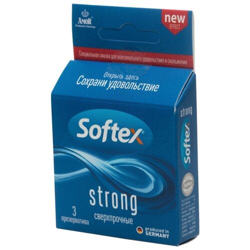 Презервативы Softex Strong 3 шт.Презервативы<br>