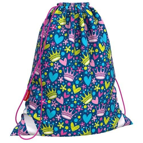 ErichKrause Мешок для обуви Little Princess (48265) синий/розовый/желтый