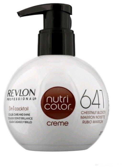 Крем Revlon Professional Nutri Color 3 in 1 cocktail 641 Chestnut Blonde