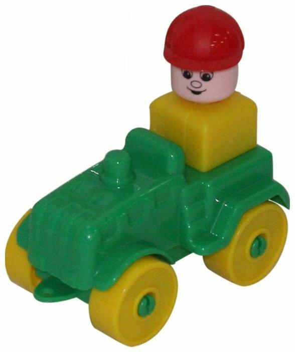 Конструктор Полесье Юный путешественник 55323 Трактор