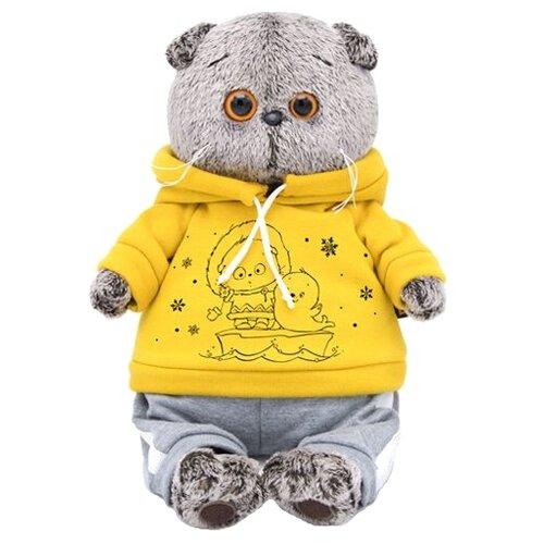 Купить Мягкая игрушка Basik&Co Кот Басик в спортивном костюме 25 см, Мягкие игрушки
