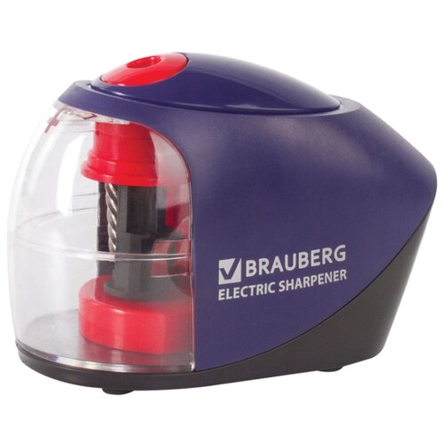 Купить BRAUBERG Точилка электрическая Delta 228421 синий/красный, Точилки