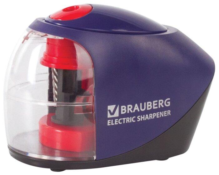 Купить BRAUBERG Точилка электрическая Delta 228421 синий/красный по низкой цене с доставкой из Яндекс.Маркета (бывший Беру)