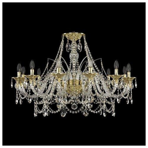цена на Люстра Bohemia Ivele Crystal Ivele Crystal 16111/12/360 G, E14, 480 Вт