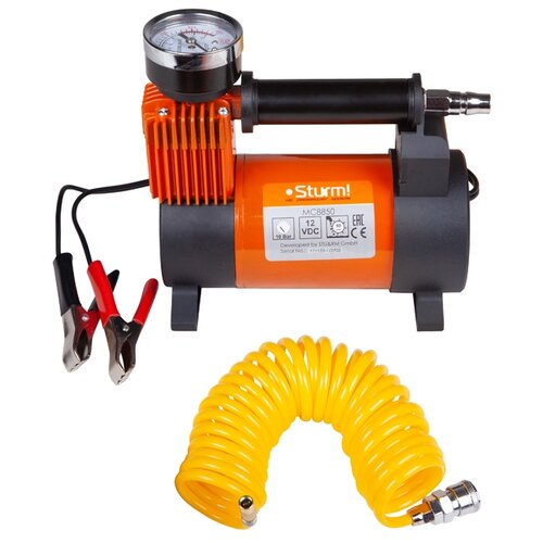 Автомобильный компрессор Sturm! MC8850 оранжевый/черный