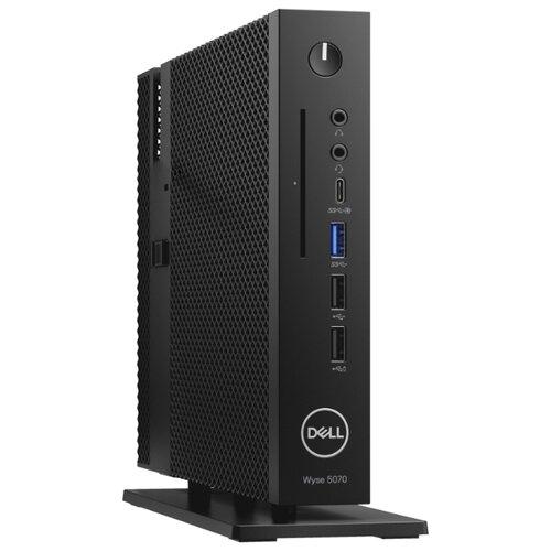 Купить Тонкий клиент DELL Wyse 5070 (210-ANVB/016) Intel Pentium Silver J5005/4 ГБ/Intel UHD Graphics 605/ThinOS черный
