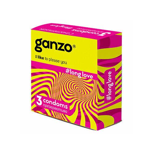 Презервативы Ganzo Long Love (3 шт.)
