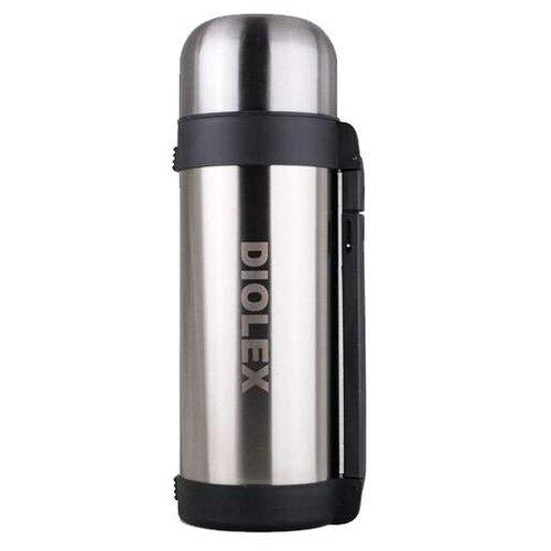 Классический термос Diolex DXH-1500-1, 1.5 л серебристый