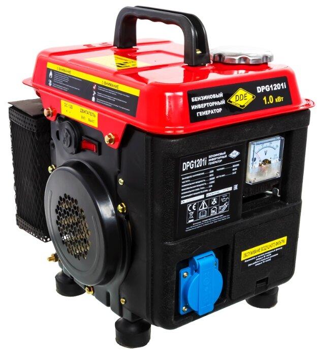 Бензиновый генератор DDE DPG1201i (1000 Вт)