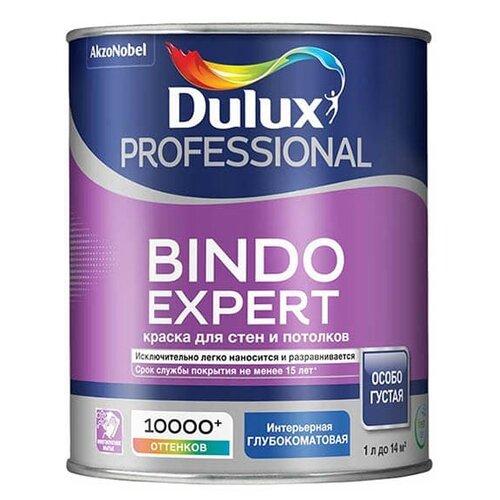 Фото - Краска Dulux Bindo Expert моющаяся матовая 1 л краска водно дисперсионная dulux bindo 7 экстрапрочная моющаяся основа вс 1 л