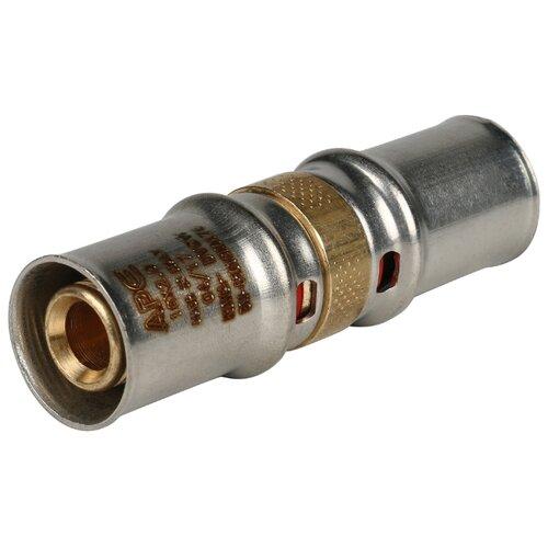 Фото - Муфта STOUT SFP-0003-001616 16x16 пресс 1 шт. муфта соединительная равнопроходная stout sfp 0003 002626 26х26 мм для металлопластиковых труб прессовая