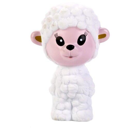 Купить Игрушка для ванной Играем вместе Овечка (LXB299) белый, Игрушки для ванной