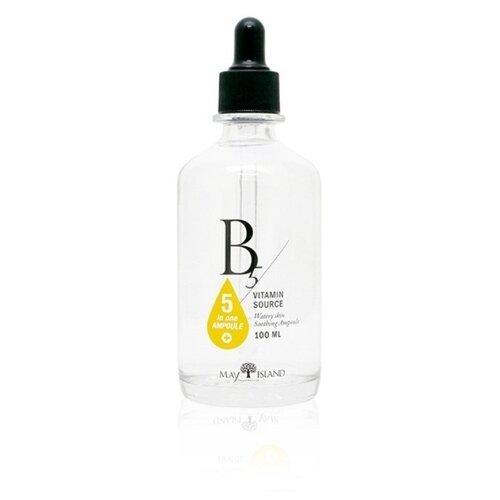 Купить MAY ISLAND Vitamin B5 Five in one Ampule Сыворотка для лица 5в1 с содержанием витамина B5, 100 мл