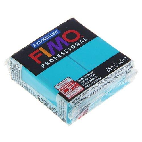 Купить Полимерная глина FIMO Professional запекаемая 85 г бирюзовый (8004-32), Глина