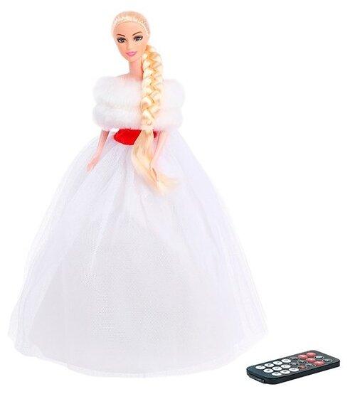 """Купить Кукла """"Снегурочка"""" музыкальная, на пульте 4168386 по низкой цене с доставкой из Яндекс.Маркета (бывший Беру)"""