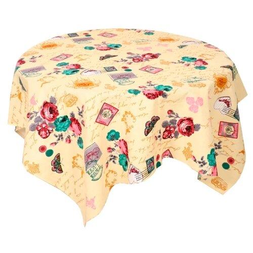 Скатерть Текстильная лавка Париж (Скр_180) 150х180 см ваниль скатерть сирень ваниль