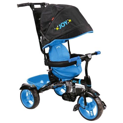 Купить Трехколесный велосипед Nika ВД4 черный/голубой, Трехколесные велосипеды