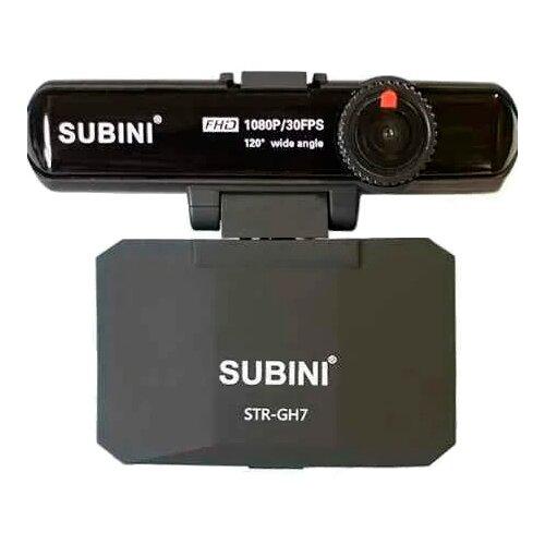 Купить Видеорегистратор с радар-детектором Subini STR GH7, GPS черный