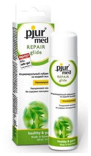 Гель-смазка Pjur Регенирирующий лубрикант с гиалуроновой кислотой pjur MED Repair glide - 100
