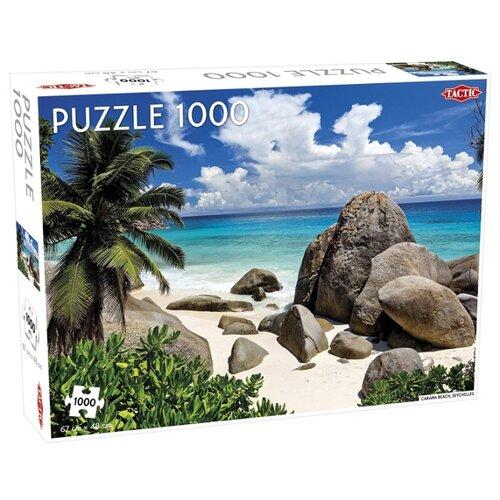 Купить Пазл TACTIC Сейшельские острова, пляж (55244), элементов: 1000 шт., Пазлы