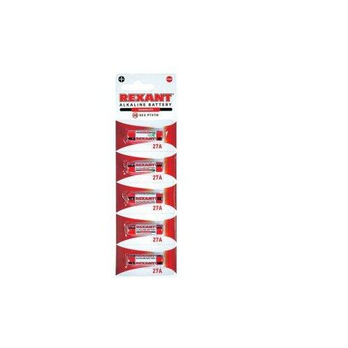 Фото - Батарейка REXANT A27 5 шт блистер емкость для сыпучих продуктов agness чай 11 5 11 5 14 см