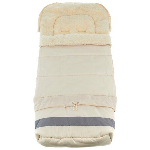Купить Конверт-мешок Leader Kids меховой в коляску Трансформер 103 см бежевый, Конверты и спальные мешки