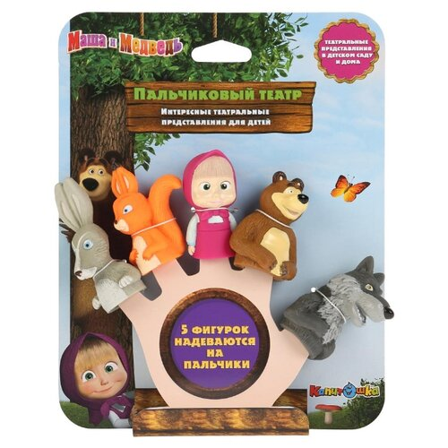 Купить Набор для ванной Играем вместе Маша и Медведь (ST-FT1801), Игрушки для ванной