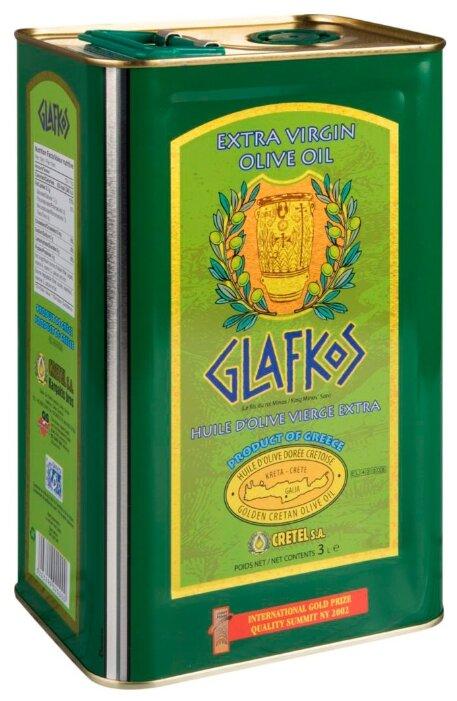 Glafkos Масло оливковое, жестяная банка