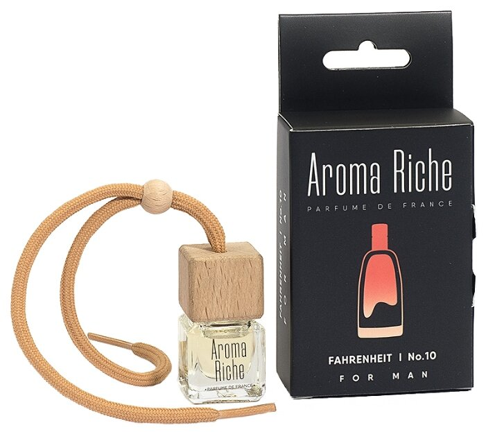 Автолидер Ароматизатор для автомобиля, Aroma Riche мужской, Fahrenheit №10 5 мл