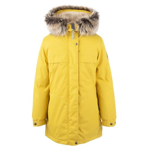 Купить Парка KERRY Margo K20463 размер 152, 0112 желтый, Куртки и пуховики