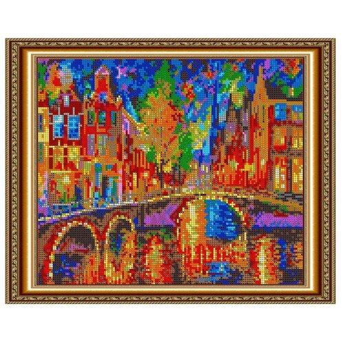 Светлица Набор для вышивания бисером Амстердам 30 x 24 см, бисер Чехия (422П)