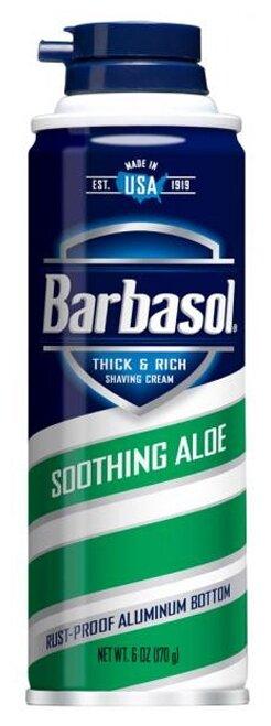 Крем-пена для бритья Soothing Aloe Barbasol
