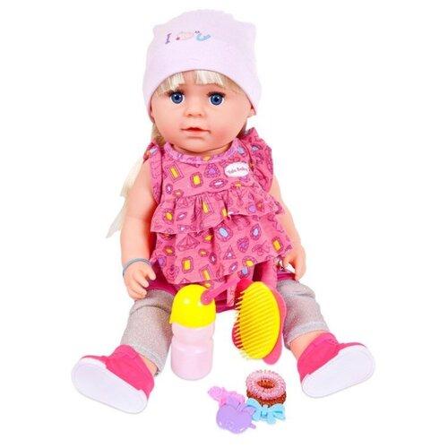 Кукла Junfa toys Baby Boutique, 45 см, PT-00982Куклы и пупсы<br>