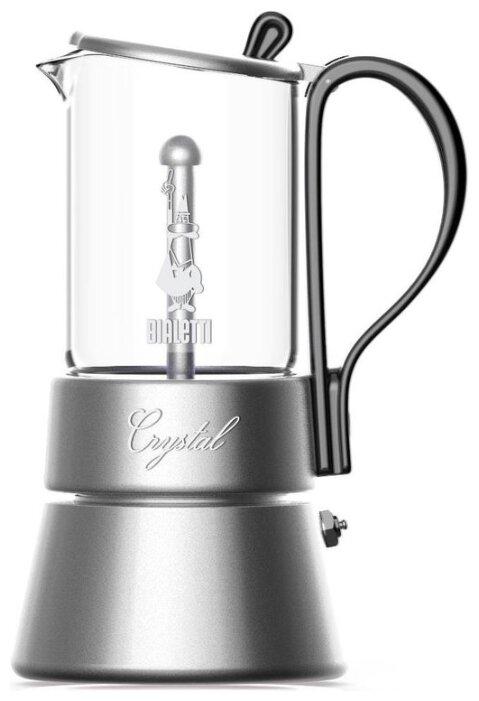 Гейзерная кофеварка Bialetti CRYSTAL на 4 чашки