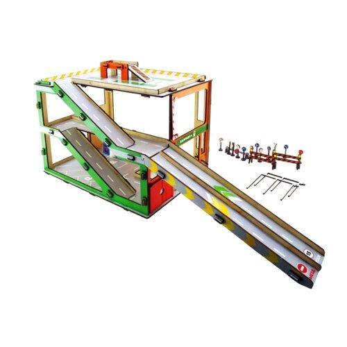 Купить Мастер игрушек IG0328 зеленый/красный/оранжевый/желтый/серый, Детские парковки и гаражи